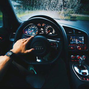 Audi dashboard - late model
